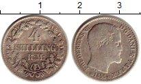 Изображение Монеты Дания 4 скиллинга 1856 Серебро VF Фредерик VII