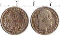Изображение Монеты Европа Дания 4 скиллинга 1856 Серебро VF