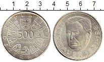 Изображение Монеты Европа Австрия 500 шиллингов 1981 Серебро XF
