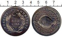 Изображение Монеты Азия Турция 500 лир 1984 Медно-никель UNC-