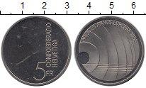 Изображение Монеты Швейцария 5 франков 1985 Медно-никель UNC- Европейский год музы