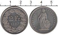 Изображение Монеты Европа Швейцария 2 франка 1987 Медно-никель UNC-