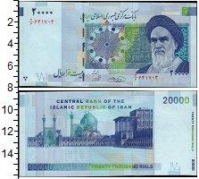 Изображение Банкноты Азия Иран 20000 риалов 2004  UNC-