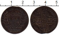 Изображение Монеты Швейцария Вауд 1 батзен 1831 Серебро VF
