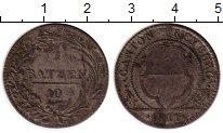 Изображение Монеты Швейцария Фрибург 1 батзен 1811 Серебро VF
