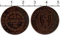 Изображение Монеты Швейцария Аппенцелль-Ауссероден 1 батзен 1808 Медь XF