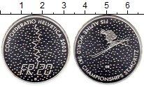 Изображение Монеты Европа Швейцария 20 франков 2003 Серебро UNC-