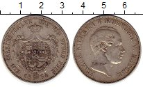 Изображение Монеты Гессен-Дармштадт 1 талер 1864 Серебро XF