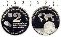 Изображение Монеты Израиль 2 шекеля 2004 Серебро Proof