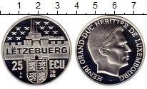 Изображение Монеты Европа Люксембург 25 экю 1998 Серебро Proof