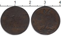 Изображение Монеты Суринам 1 дьюит 1764 Медь VF