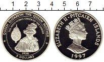 Изображение Монеты Острова Питкэрн 5 долларов 1997 Серебро Proof