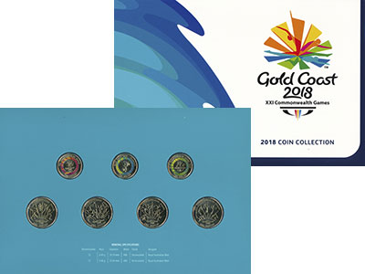Изображение Подарочные монеты Австралия и Океания Австралия XXI Игры Содружества 2018 Латунь UNC