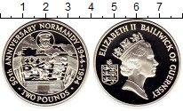 Изображение Монеты Великобритания Гернси 2 фунта 1994 Серебро Proof