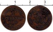 Изображение Монеты Германия Саксония 1 пфенниг 1865 Медь VF