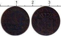 Изображение Монеты Пруссия 1 пфенниг 1836 Медь VF