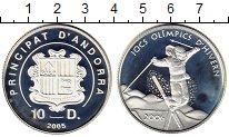 Изображение Монеты Андорра 10 динерс 2005 Серебро Proof