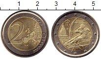 Изображение Монеты Италия 2 евро 2006 Биметалл UNC- XX зимние Олимпийски