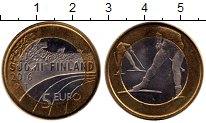 Изображение Монеты Европа Финляндия 5 евро 2016 Медно-никель UNC