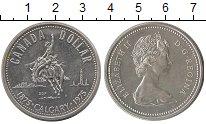Изображение Монеты Северная Америка Канада 1 доллар 1975 Серебро UNC-