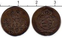 Изображение Монеты Германия Саксония 1/48 талера 1807 Серебро VF
