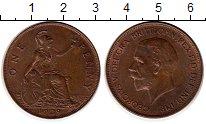 Изображение Монеты Европа Великобритания 1 пенни 1929 Бронза XF