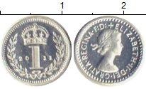 Изображение Монеты Европа Великобритания 1 пенни 2011 Серебро Proof
