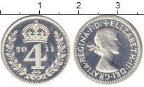 Изображение Монеты Европа Великобритания 4 пенса 2011 Серебро Proof