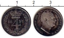 Изображение Монеты Европа Великобритания 4 пенса 1837 Серебро XF