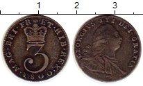 Изображение Монеты Европа Великобритания 3 пенса 1800 Серебро XF+