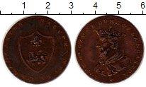 Изображение Монеты Великобритания 1/2 пенни 1792 Медь XF-