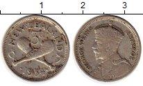 Изображение Монеты Австралия и Океания Новая Зеландия 3 пенса 1934 Серебро VF