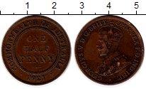 Изображение Монеты Австралия 1/2 пенни 1921 Бронза XF