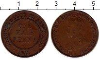 Изображение Монеты Австралия и Океания Австралия 1/2 пенни 1917 Бронза XF