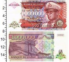 Изображение Банкноты Заир 1000000 заир 1993  UNC