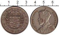 Изображение Монеты Австралия и Океания Новая Зеландия 1/2 кроны 1934 Серебро XF