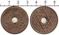 Изображение Монеты Западная Африка 1 пенни 1942 Медно-никель XF