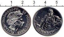 Изображение Монеты Великобритания 20 фунтов 2015 Серебро BUNC