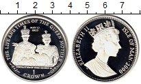 Изображение Монеты Остров Мэн 1 крона 2000 Серебро Proof