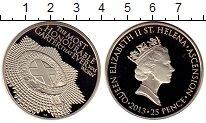 Изображение Монеты Великобритания Остров Святой Елены 25 пенсов 2013 Медно-никель Proof