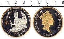 Изображение Монеты Олдерни 5 фунтов 2006 Серебро Proof-