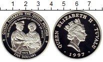 Изображение Монеты Австралия и Океания Тувалу 5 долларов 1997 Серебро Proof