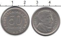 Изображение Дешевые монеты Южная Америка Аргентина 50 сентаво 1955 Медно-никель XF