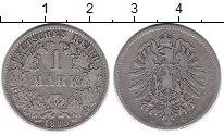 Изображение Монеты Европа Германия 1 марка 1880 Серебро VF