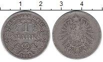 Изображение Монеты Германия 1 марка 1881 Серебро VF G
