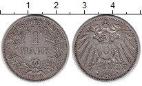 Изображение Монеты Европа Германия 1 марка 1899 Серебро XF