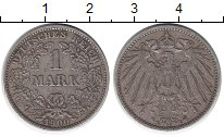 Изображение Монеты Европа Германия 1 марка 1900 Серебро XF