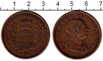 Изображение Монеты Европа Великобритания 1 стивер 1813 Медь XF-