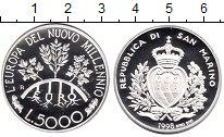 Изображение Монеты Европа Сан-Марино 5000 лир 1998 Серебро Proof