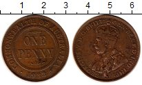 Изображение Монеты Австралия и Океания Австралия 1 пенни 1933 Медь XF
